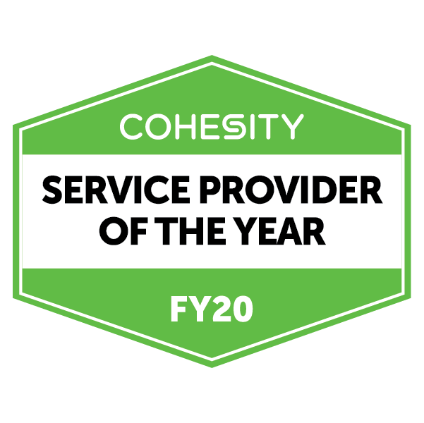Cohesity Service Provider of the Year